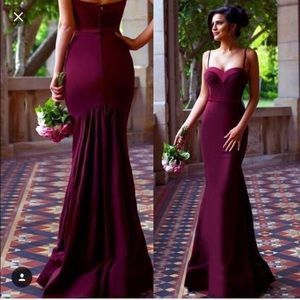 Portia and Scarlett ELSA Gown- Prom Gown